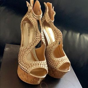 Sexy wedge heels